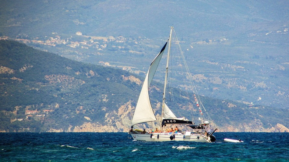 Sailboat, Sea, Boat, Summer, Travel, Vacation, Tourism