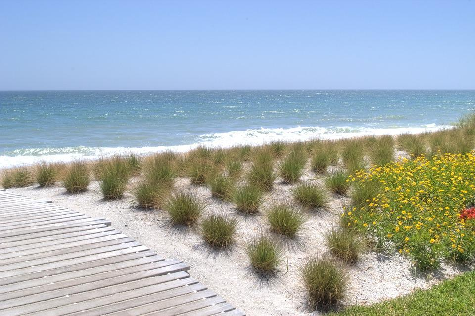 Beach, Florida, Sunny, Vacation, Ocean, Sand, Water