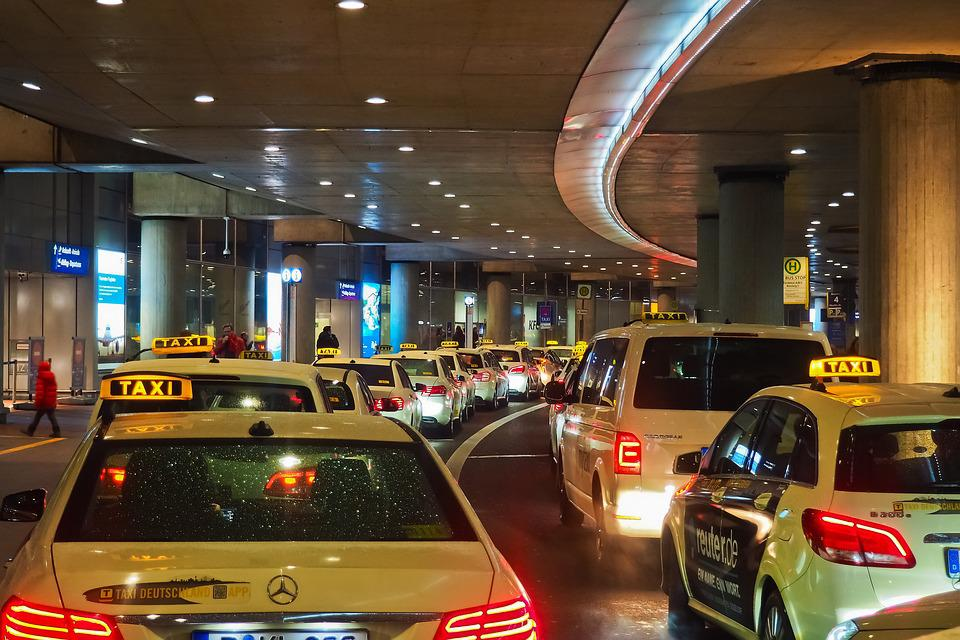 Taxi, Airport, Travel, Vacations, Architecture