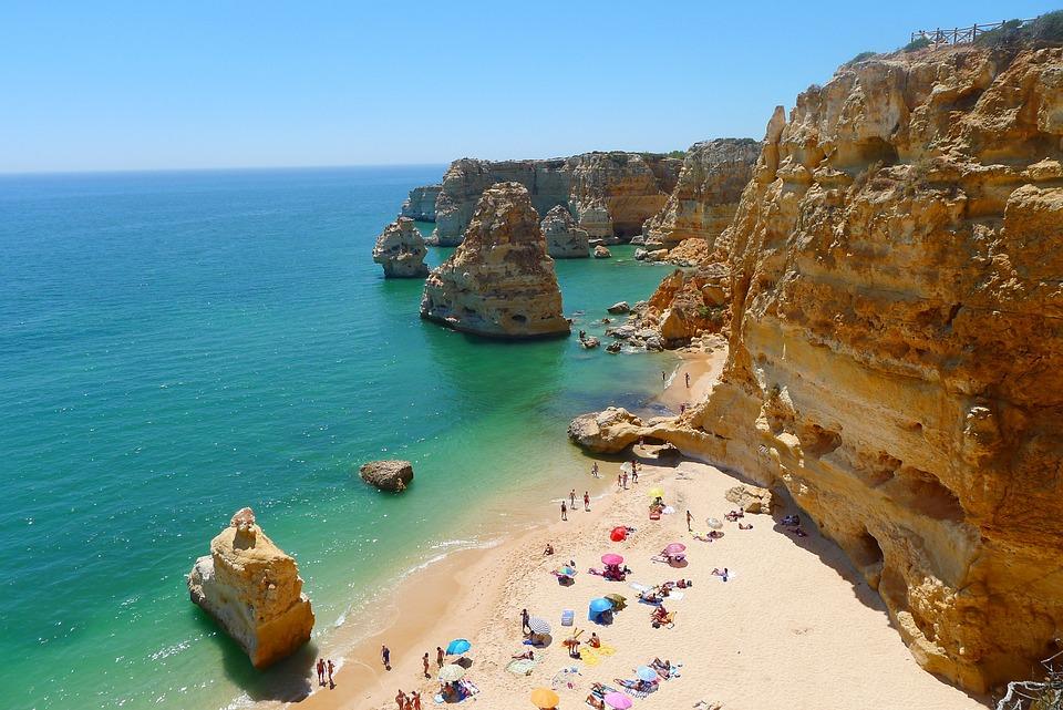 Sea, Beach, Bay, Vacations, Summer, Swim, Algarve