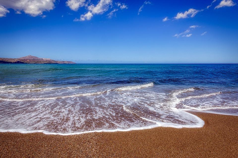 Crete, Greece, Sea, Vacations, Water, Landscape, Blue