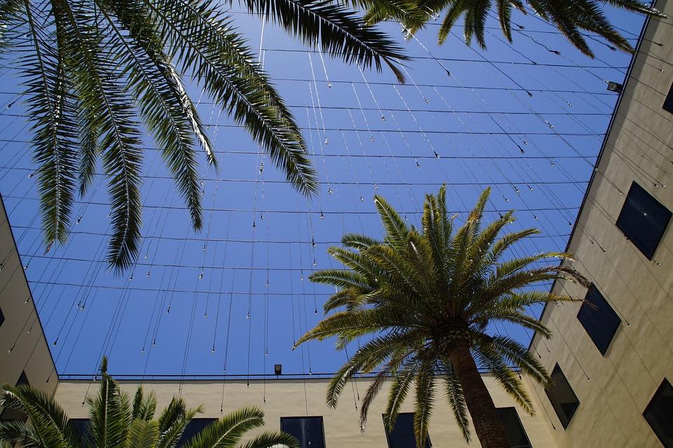 Courtyard, Sky, Vacations, Building, Mediterranean