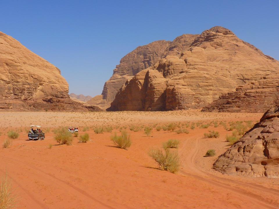 Wadi Rum, Negev, Negev Desert, Jordan, Vacations