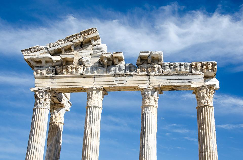 The Temple Of Apollo, Side, Turkey, Vacations