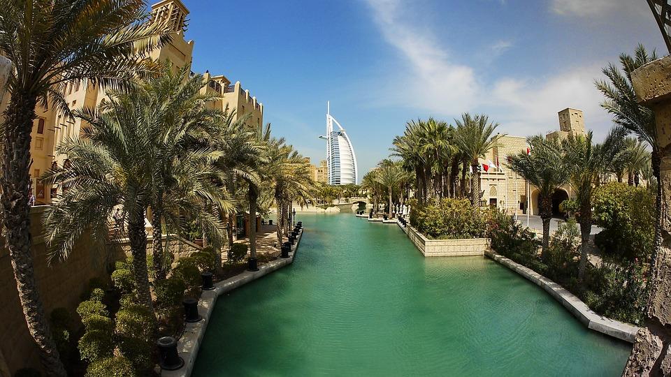 Dubai, Desert, Al Arab, Vacations, Sun, Hot