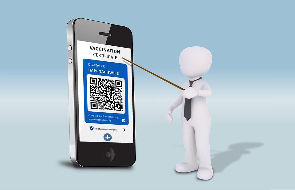 Vaccination Certificate, Smartphone, Presentation