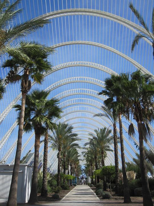 City Of Arts And Sciences, Valence, Valencia, Spain