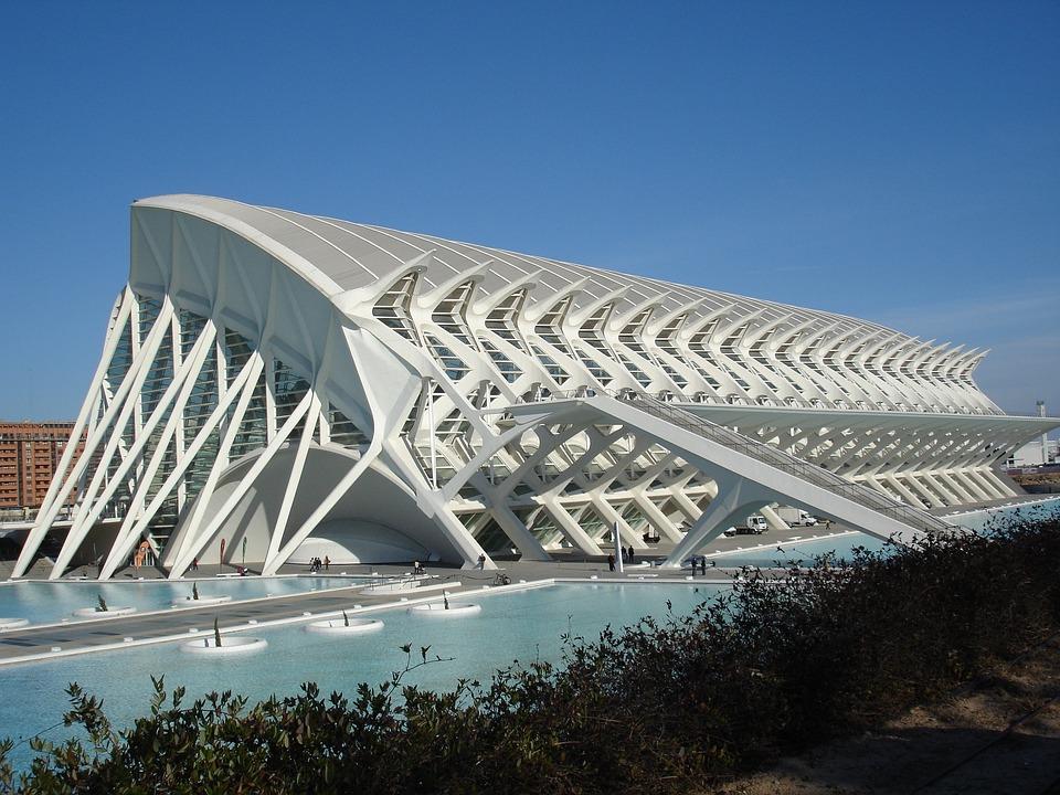 Oceanografic, Valencia, Architecture, Spain