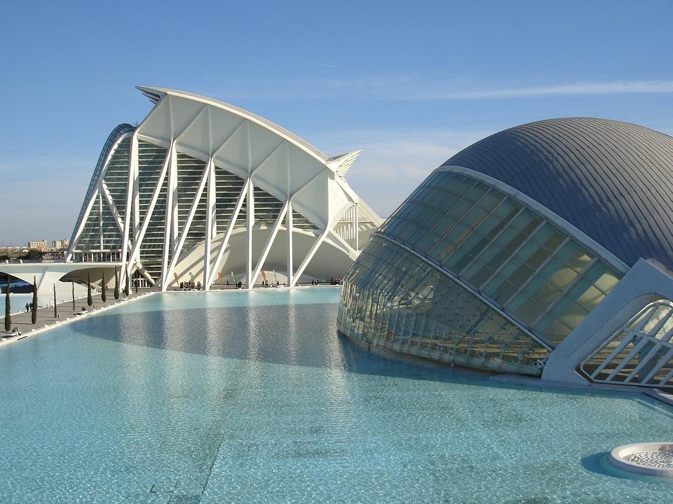 Oceanografic, Architecture, Valencia, Spain
