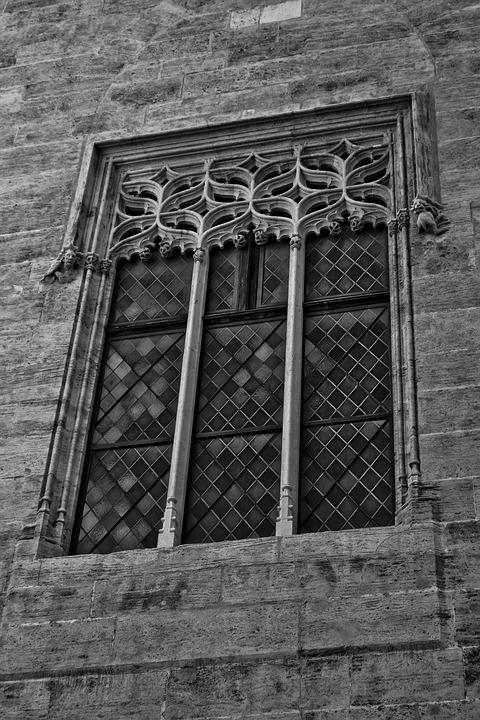 Window, Valencia, Slice, Spain, Architecture, Building