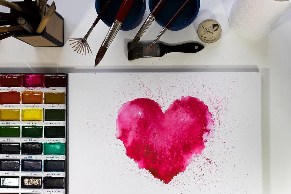 Heart, Valentine, Love, Affection, Red, Pink