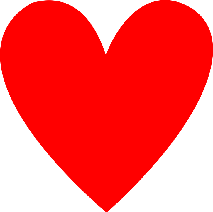 Heart, Love, Red, Simple, Valentine, Romance, Red Love