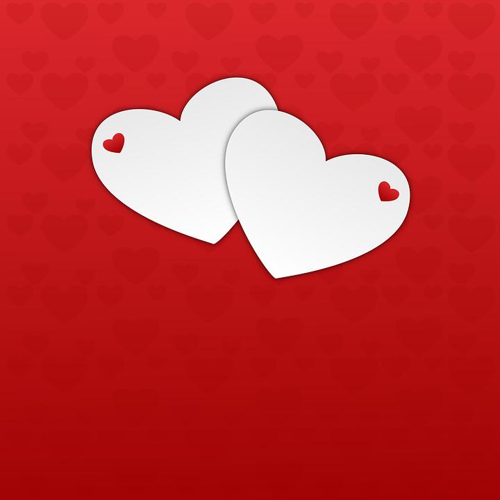 Heart, Hearts, Background, Red Background, Valentine