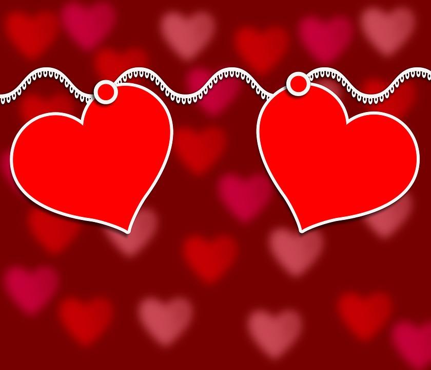 Love, Romantic, Valentine's Day, Symbol, Form, Heart