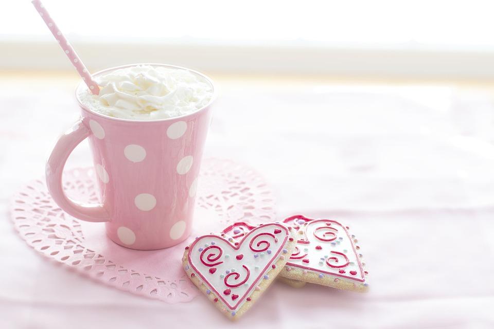 Valentine, Valentines Day, Pink, Winter, Cookies
