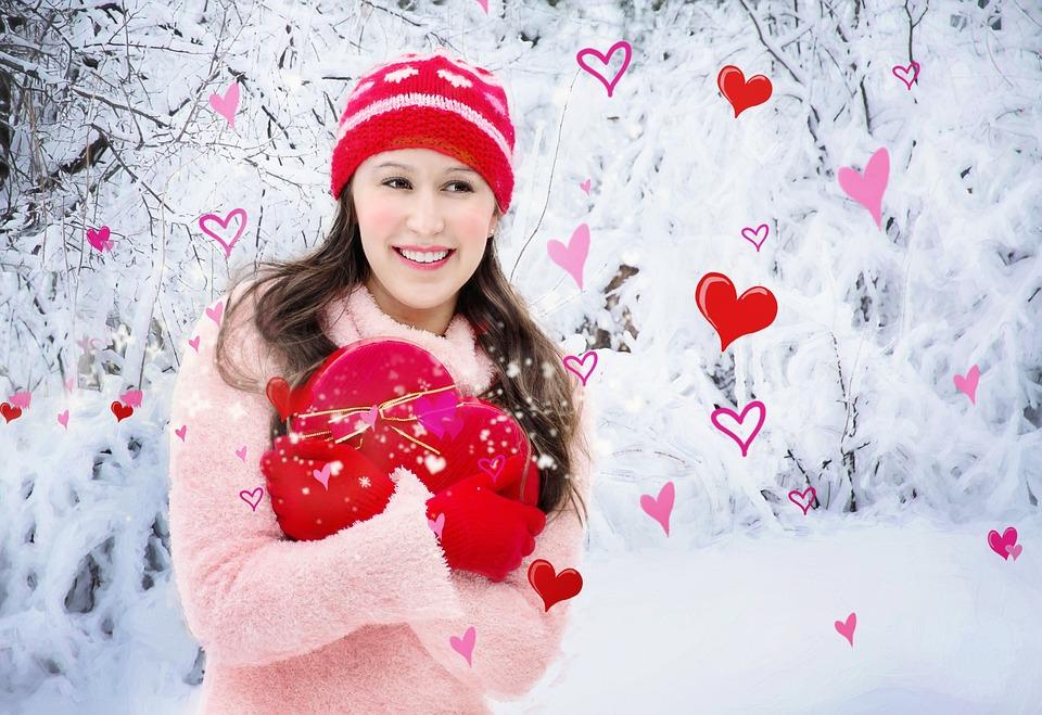 Valentine's Day, Valentine, Heart, Pretty Girl, Love