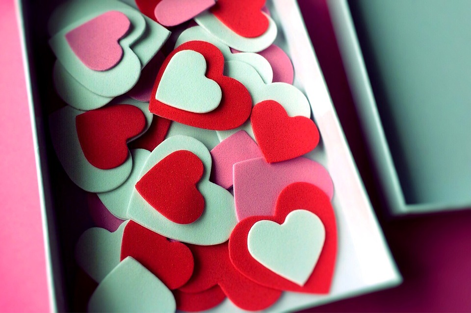 Valentine's Day, Hearts, Romance, Love, Affection
