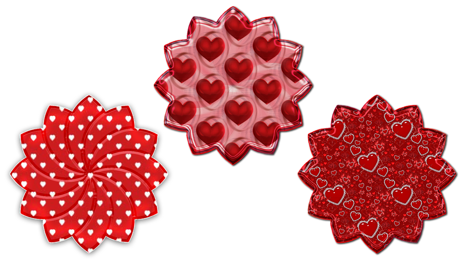Pattern, Hearts, Valentine Day, Valentines, Couples
