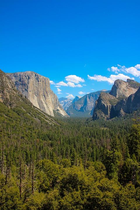 Yosemite, Yosemite National Park, Valley, Cliff