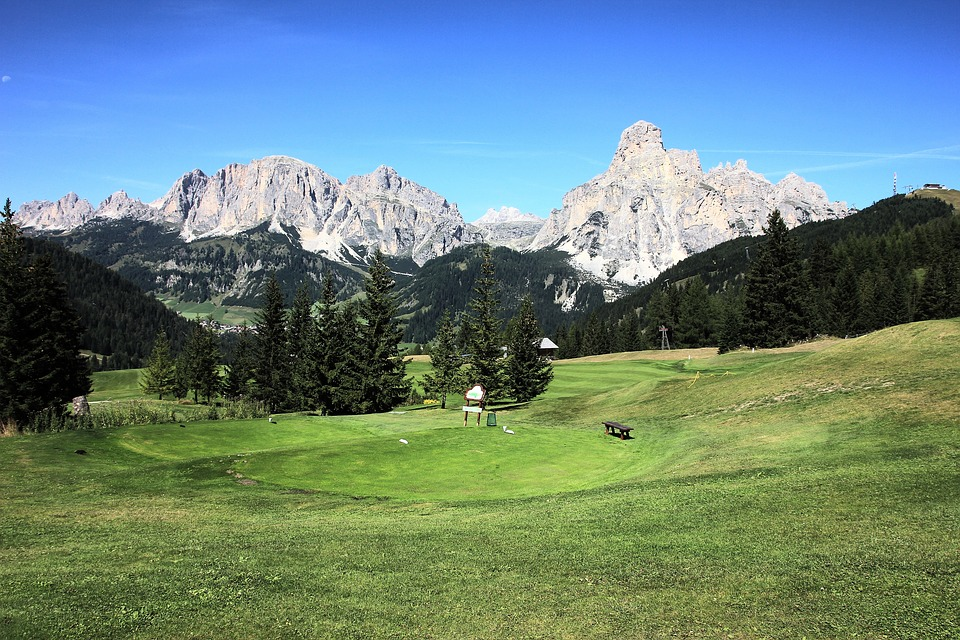 Nature, Mountain, Grass, Panorama, Landscape, Valley