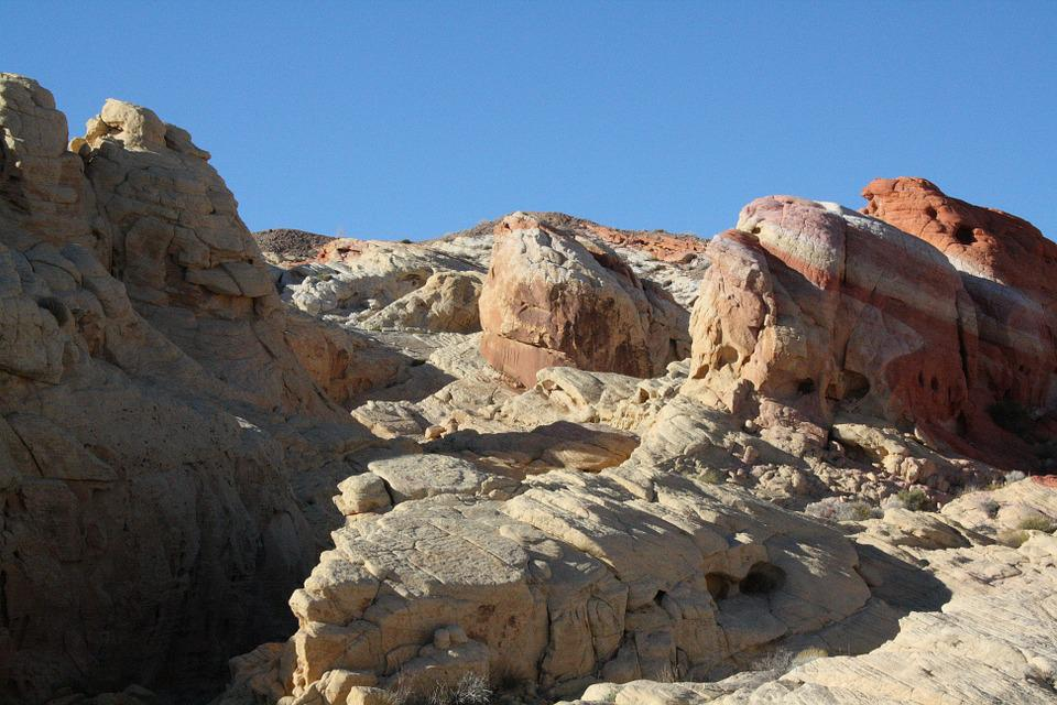 Usa, Nevada, Valley Of Fire, Stone Formation