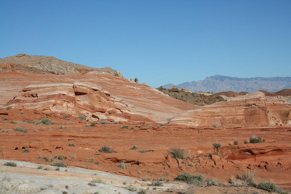 Usa, Nevada, Valley Of Fire, The Wave