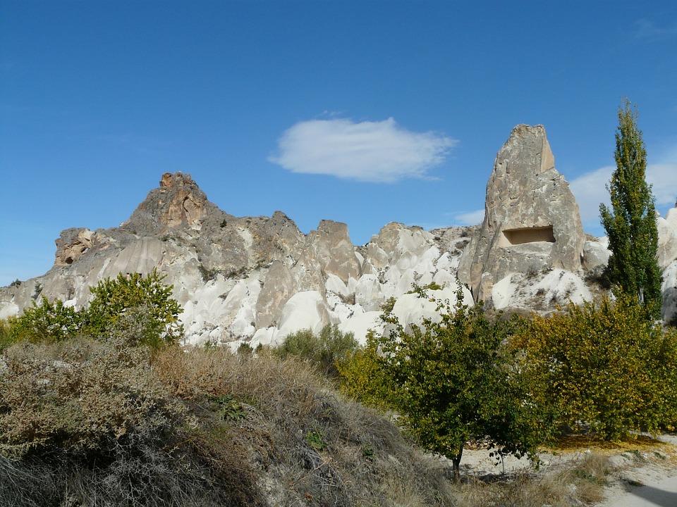 Valley Of Roses, Cappadocia, Fairy Towers, Turkey