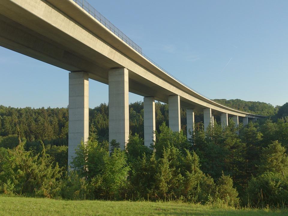 Bridge, Aichtal, Schönbuch, Valley