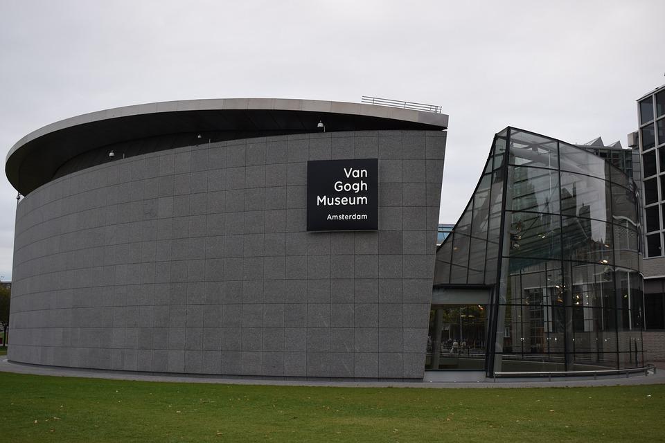 Museum, Van Gogh, Architecture, Modern