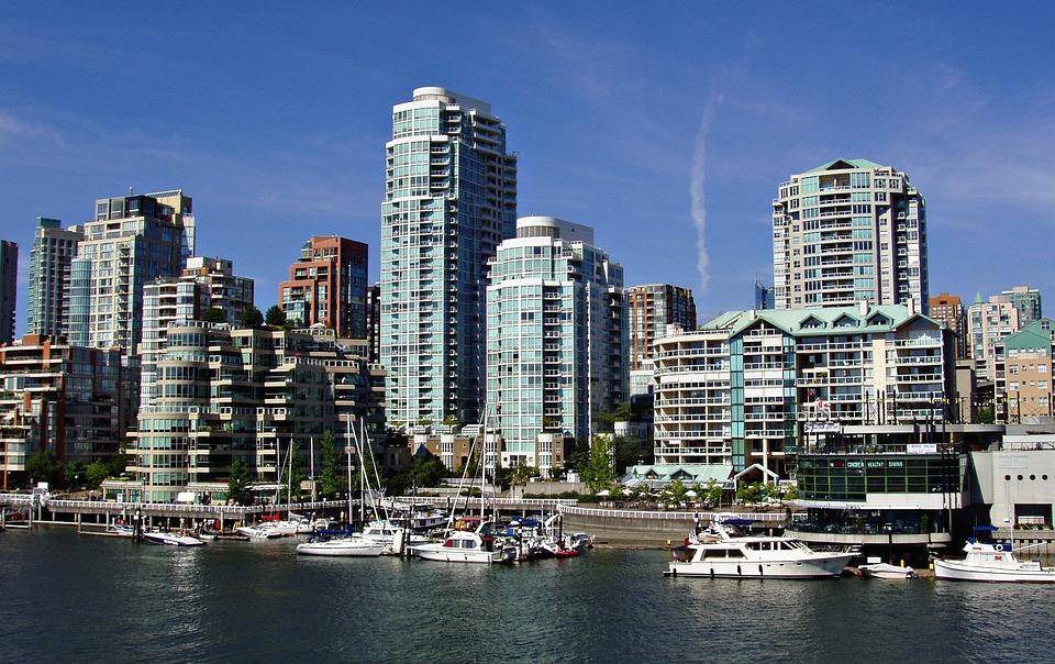 Skyline, Vancouver, British Columbia, Canada, City