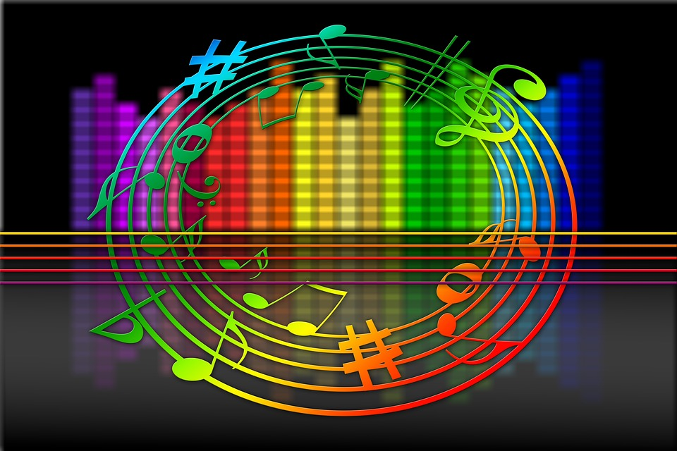 Equalizer, Music, Vanishing Point, Center, Centering