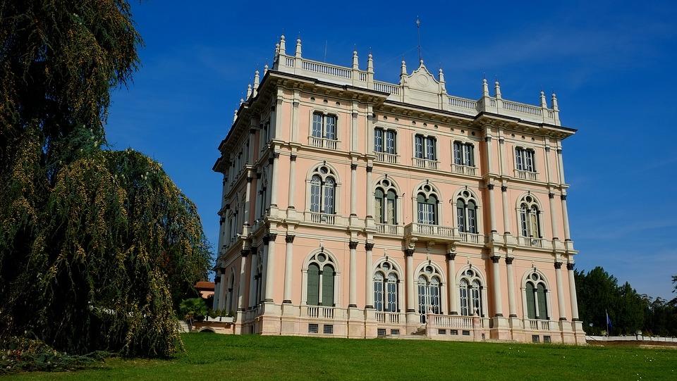 Villa Ponti, Varese, Lombardy, Italy, Nature, Sky