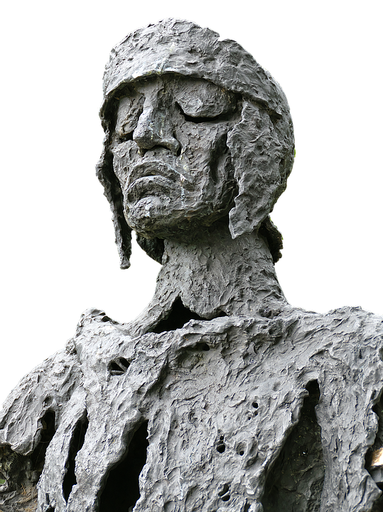 Varus, Monument, Portrait, Bronze Statue, Still Image