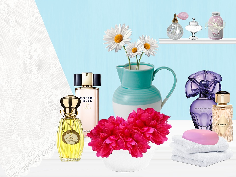 Bathroom, Perfumes, Vase, Lace, Toilet Soap, Soap