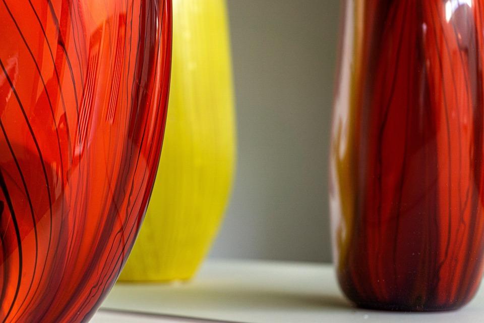 Glass, Vase, Art, Vibrant, Pottery, Craft, Ceramic