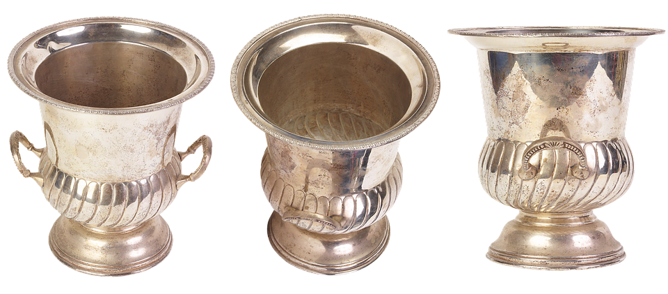 Vase, Vessel, Decorative, Cup, Jugs, Silver Bowl