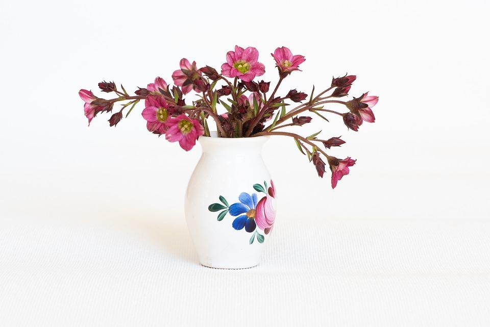Free Photo Vase Pink Flower Vase Deco Pink Flowers Flowers Max Pixel
