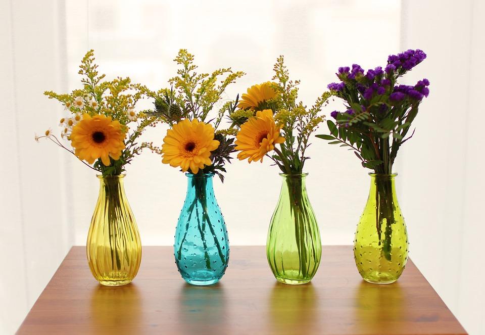 Vase, Plants, Bouquet De Fleurs, Flowers