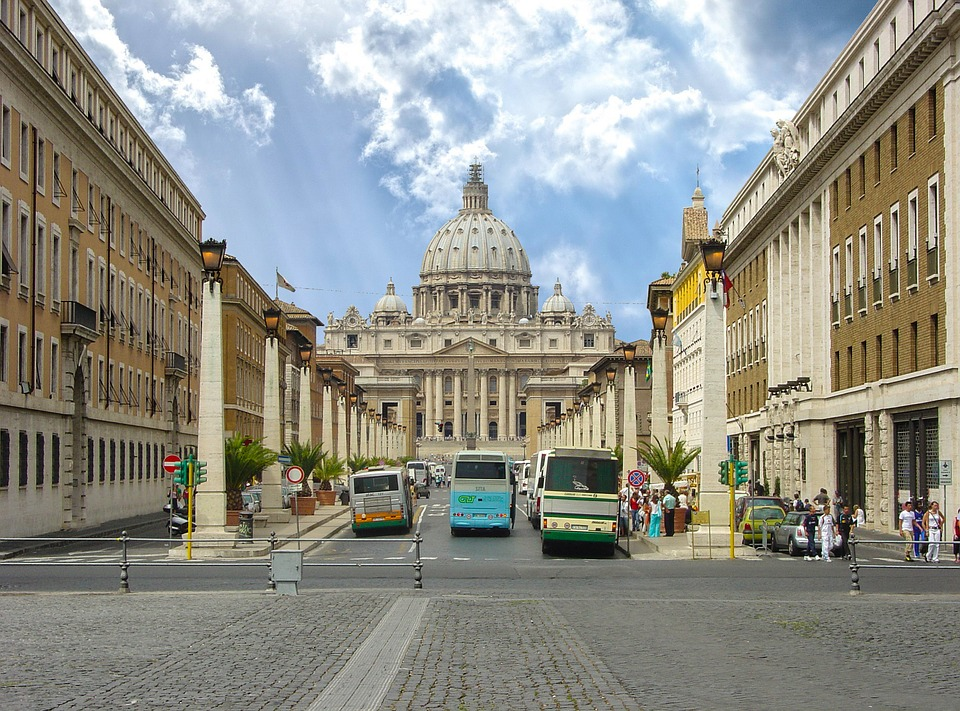 Rome, St Peters, Saint Peters, Vatican, City, Italy