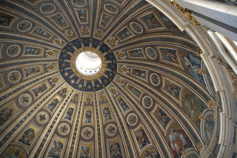 Vatican, St Peter's Basilica, Dome