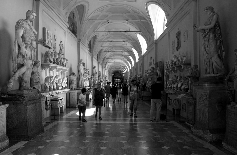 Musei Vaticani, Vatican, Museum, The Vatican, Italy
