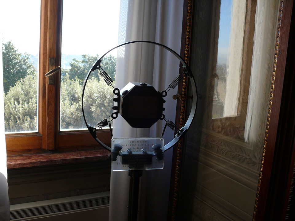 Vatican Radio, Microphone, Marconi, The Vatican, Rome