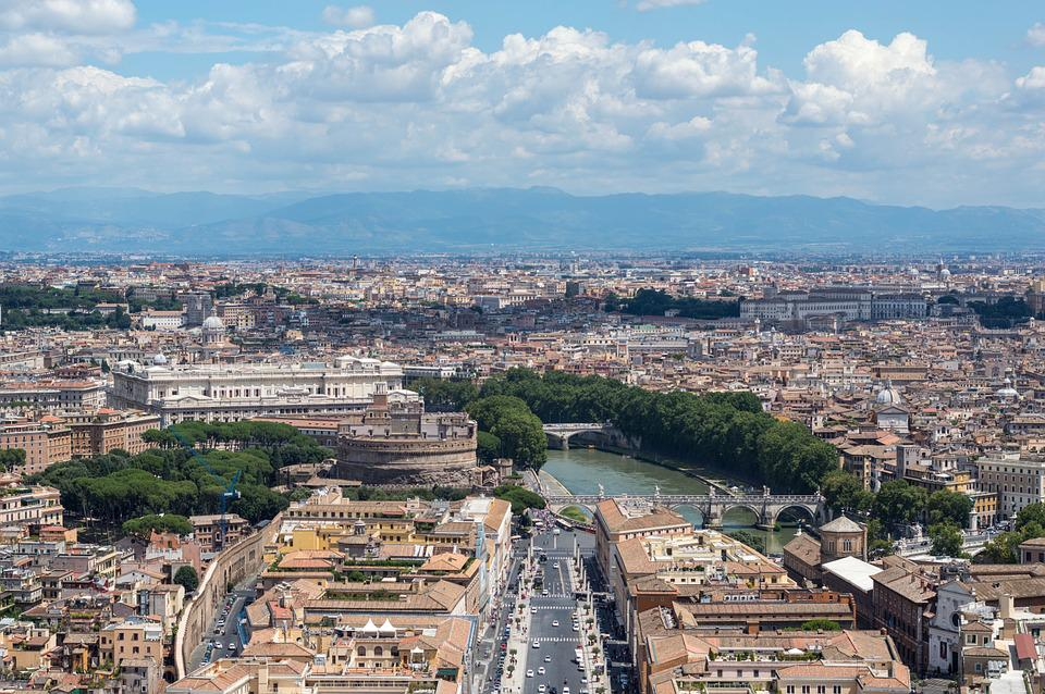 Rome, Vatican, View, Italy, Outlook, Viewpoint