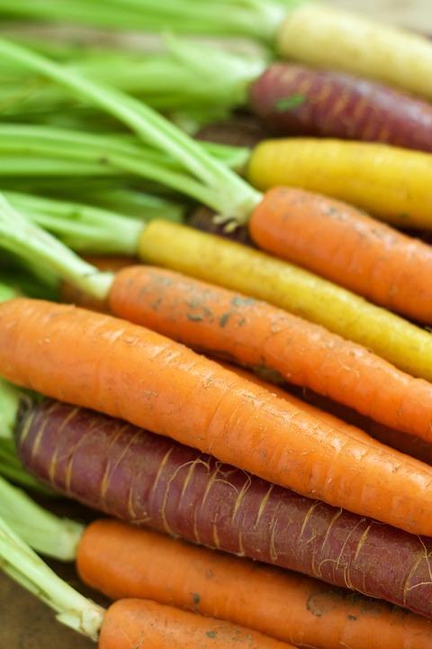 Carrots, Orange, Vegetable