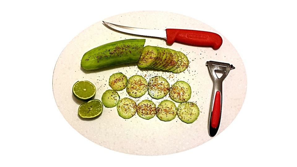 Cucumber, Cuke, Organic, Vegetable, Green, Food, Fresh