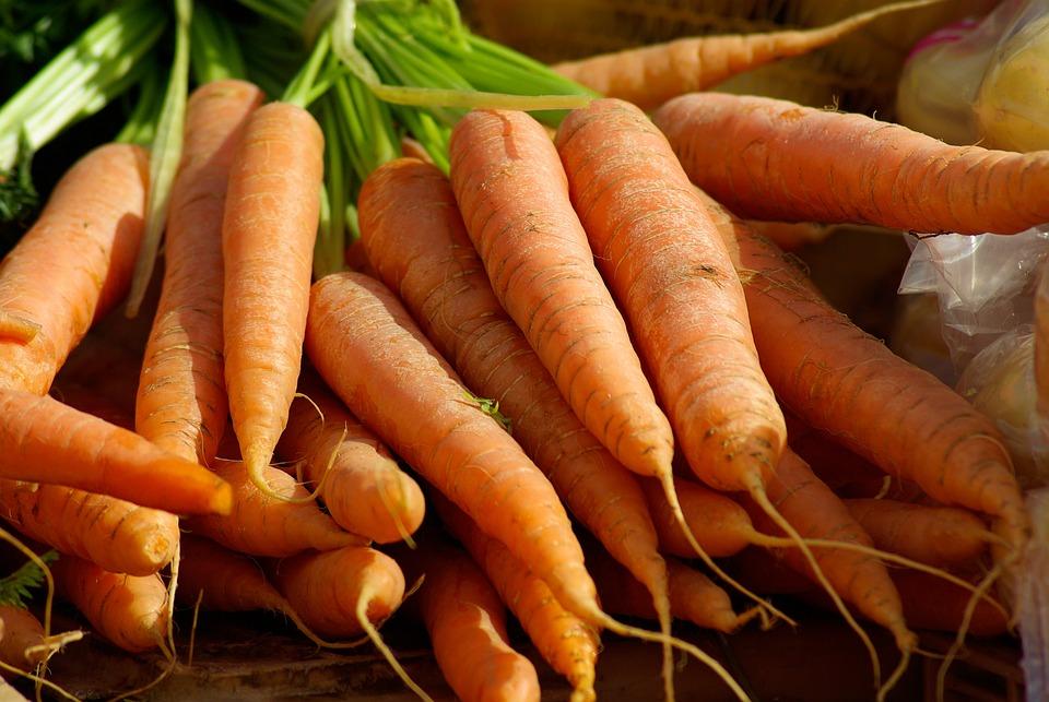 Carrots, Vegetables, Vegetable Garden, Market