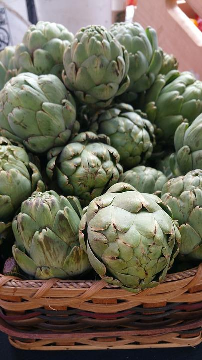Artichokes, Food, Vegetable, Green, Fresh, Ingredient