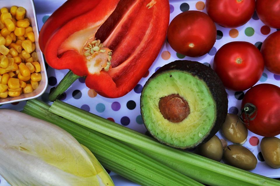 Vegetables, Diet, Healthy, Colorful, Eating, Vegetable