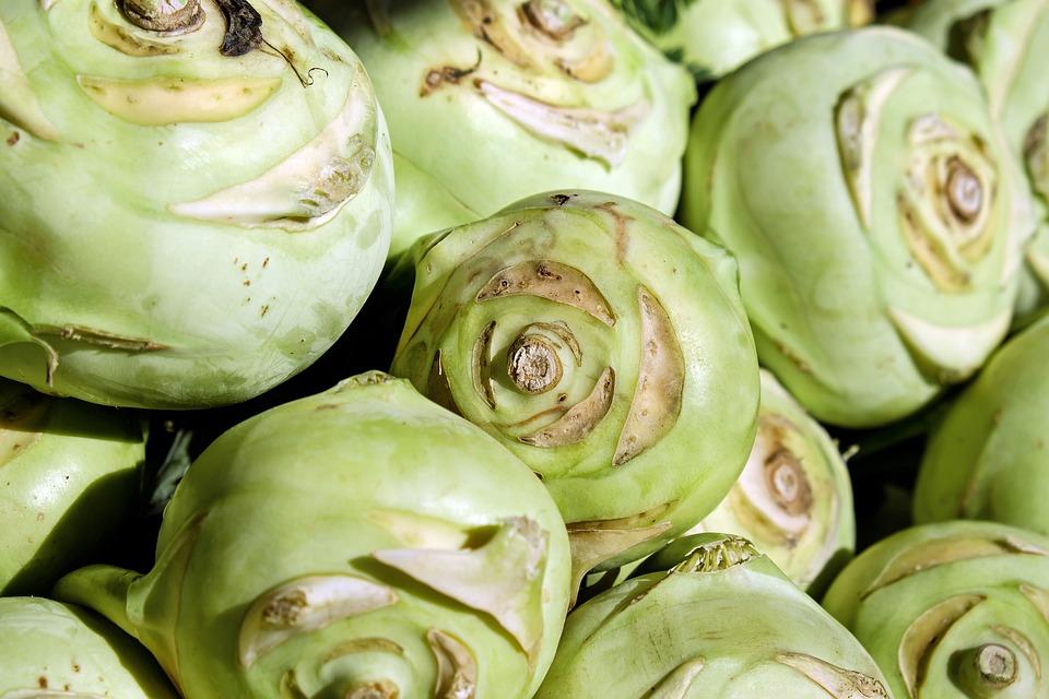 Kohlrabi, Vegetables, Cabbage, Vegetable Plant, Food