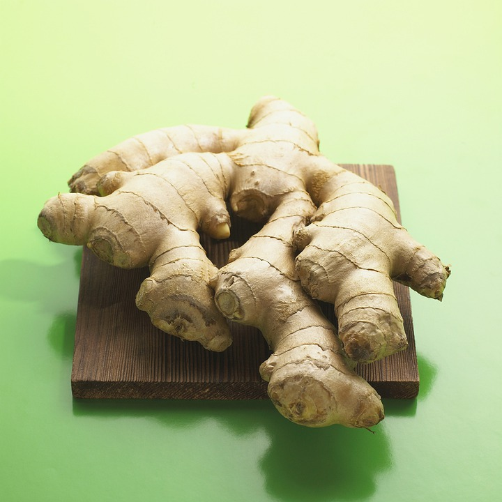 Ginger, Ginger Root, Vegetables, Cooking, Spices